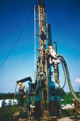 Aufschlussbohrungen im Karlumer Forst zum Auffinden eines zweiten Wasserhorizontes, 1977